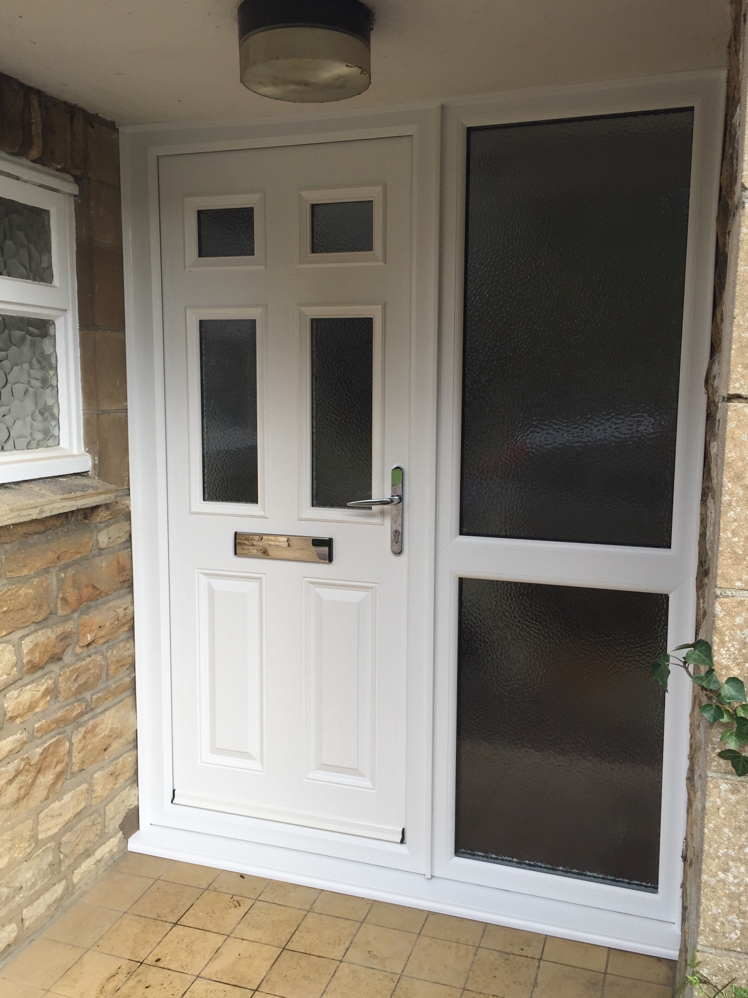 White composite doors neil amos windows for Composite windows