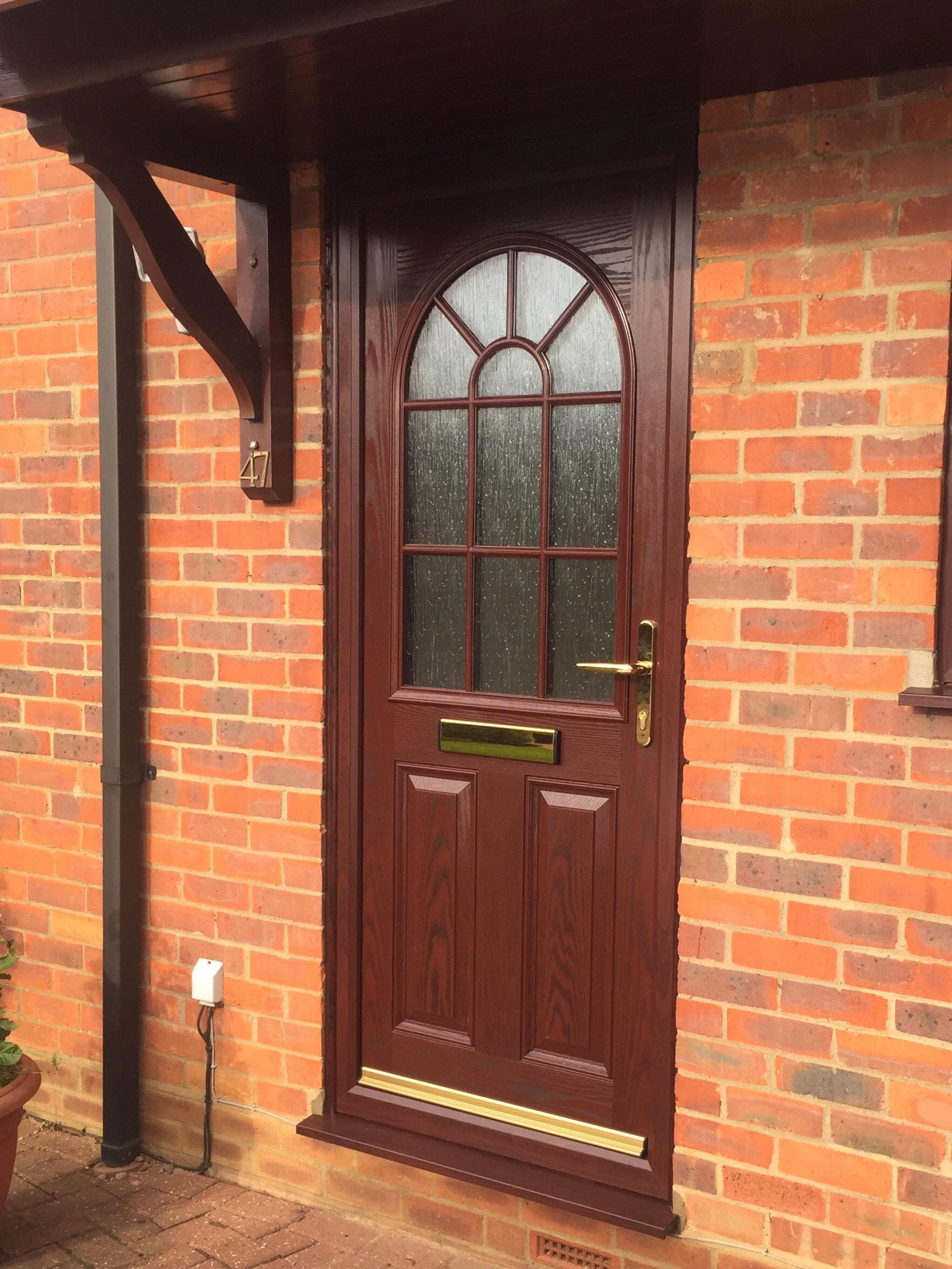 Rosewood composite door & Rosewood composite door | Neil Amos Windows