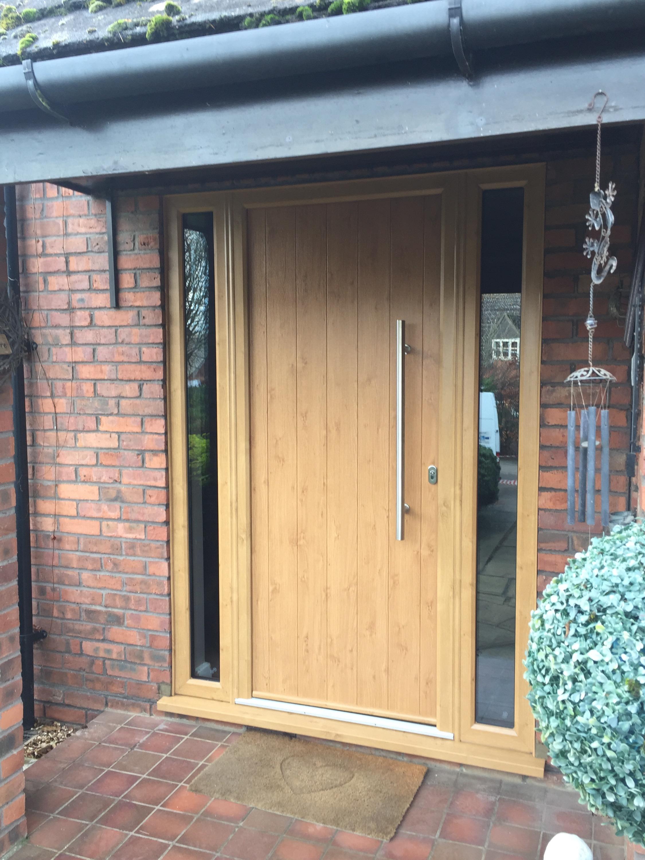 Irish oak composite door neil amos windows for Composite front doors