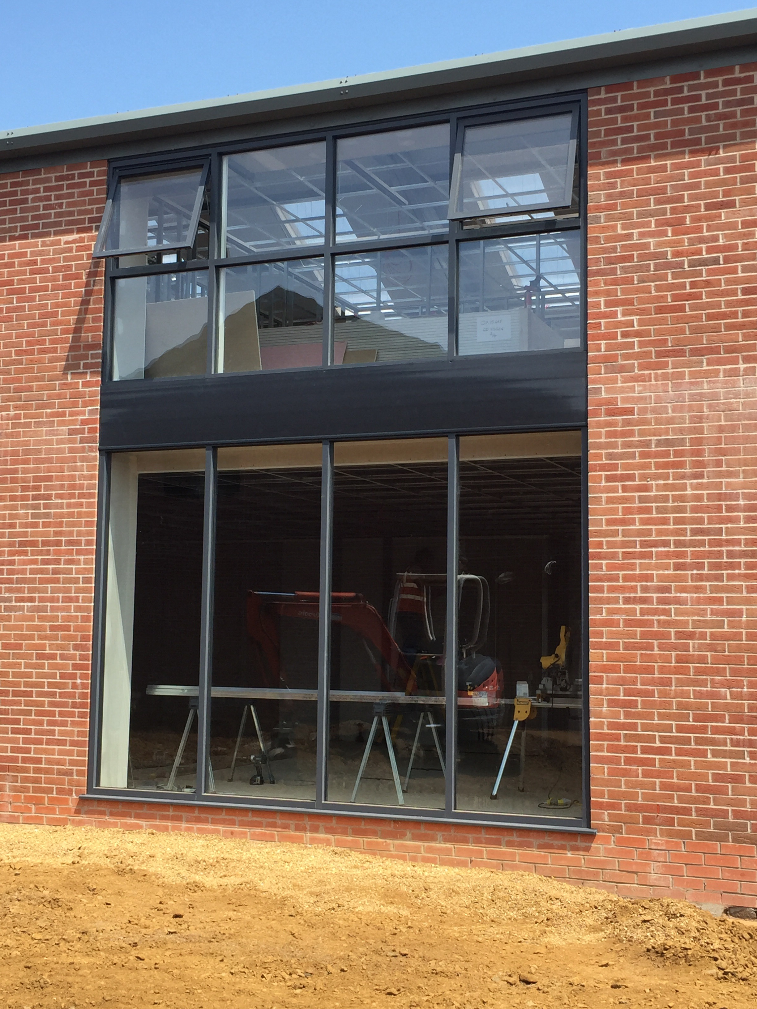 Commercial aluminium neil amos windows for Commercial windows