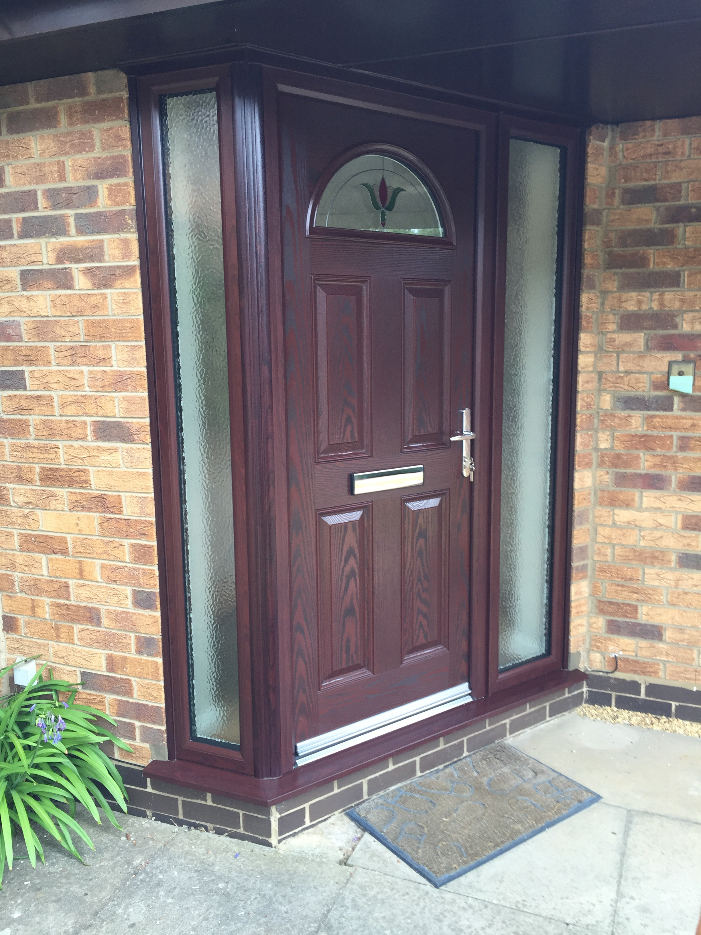 Rosewood doors rosewood in stock for Composite windows