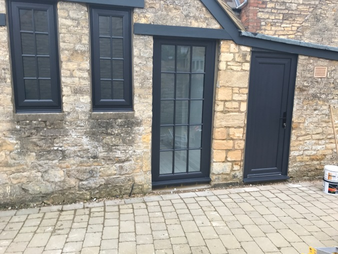 Anthracite Grey Windows With Astragal Bars Neil Amos Windows