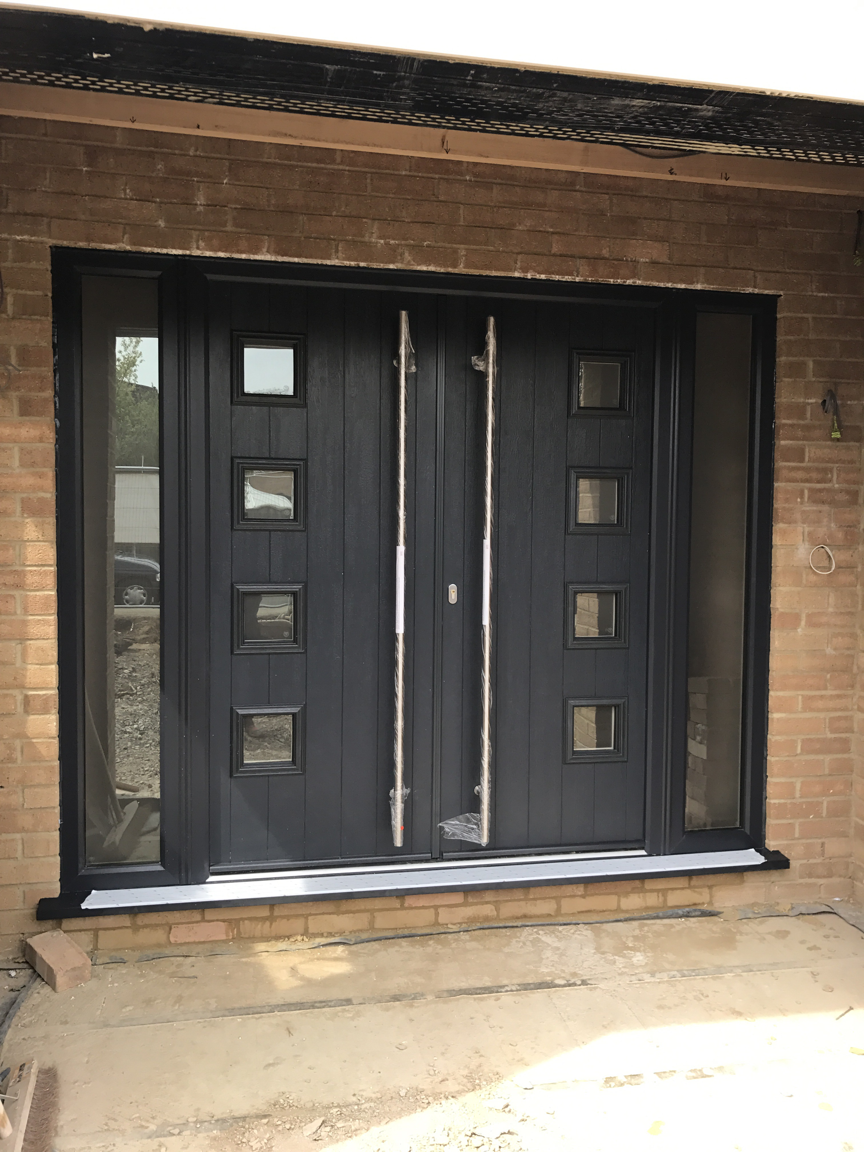 Double composite doors neil amos windows - Reasons may want switch upvc doors windows ...